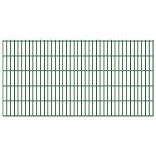 Сад Border 2D Железный забор Панель 6/5 / 6мм Wire 5шт 103см 10м