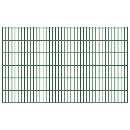 Garten Border 2D Iron Fence Panel 6/5/6 mm Draht 5pcs 123cm 10m