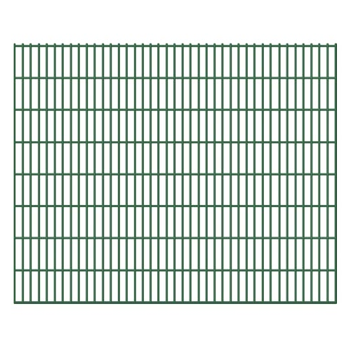 Сад Border 2D Железный забор Панель 6/5 / 6мм Wire 5шт 163см 10м