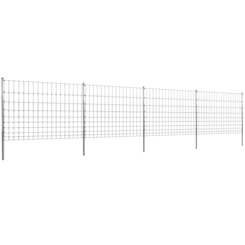 Step-In Fence 50 m with Post Galvanized Wire Fence 120/10/15