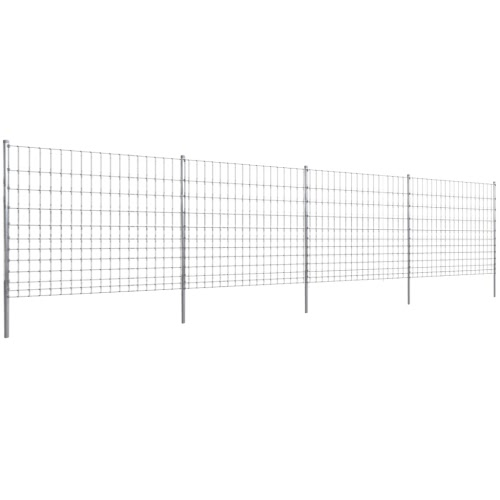 Step-In Fence 50 m with Post Galvanized Wire Fence 150/12/15