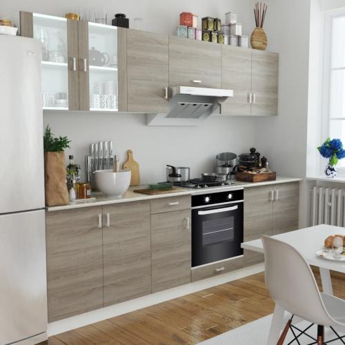 Дуб Смотри кухонный шкаф Блок с встроенной духовкой 6 функций