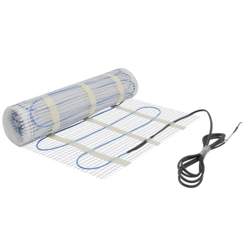 10m² Underfloor Heating Mat 160W/m² Twin with Touch-screen Thermostat