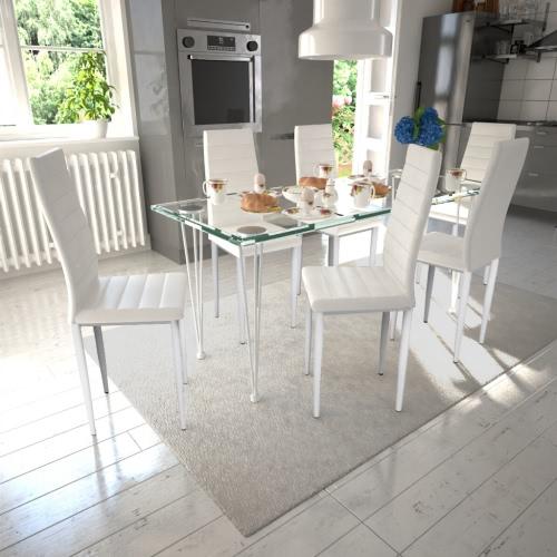 6 pcs Slim Line silla de comedor