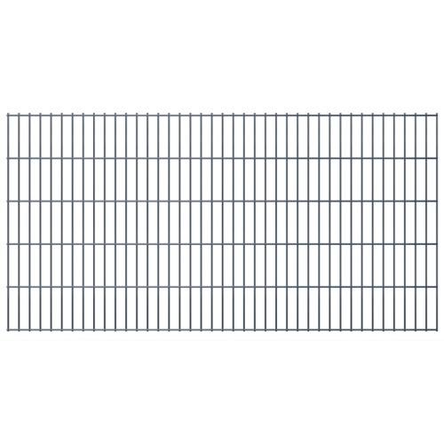 2D recinto del giardino Pannelli & commenti di 2008x1030 mm 14 m grigio