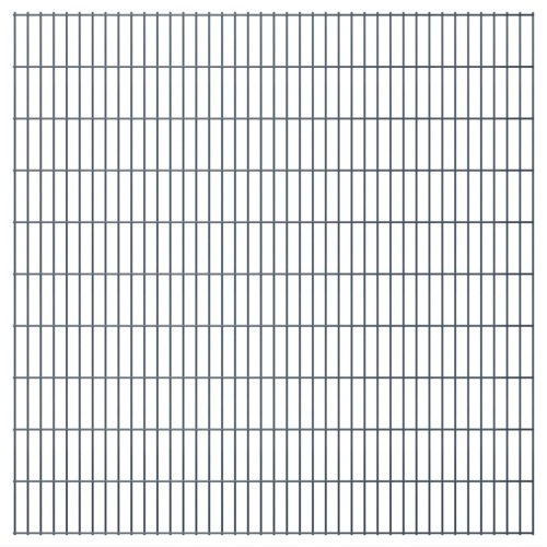 2D recinto del giardino Pannelli & commenti di 2008x2030 mm 18 m grigio