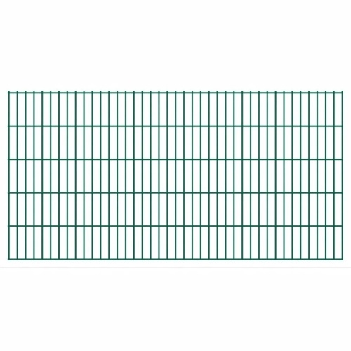 2d garden fence panels 2008x1030 mm 18 m green