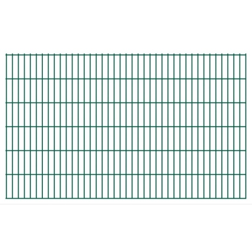 2d garden fence panels 2008x1230 mm 30 m green