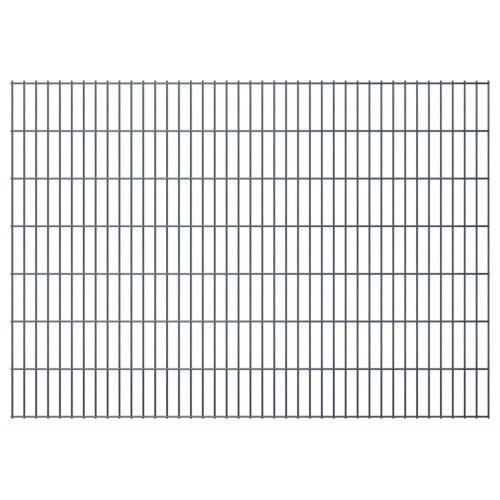 2D giardino pannelli di recinzione 2008x1430 mm 30 m grigio