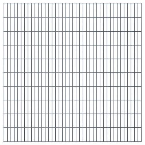 2D giardino pannelli di recinzione 2008x2030 mm 28 m grigio
