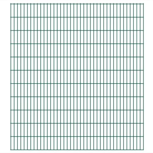 2D giardino pannelli di recinzione 2008x2230 mm 20 m Verde
