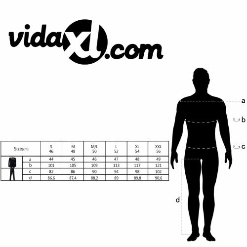 Due pezzi da maschile  con pantaloni extra nero taglia 46