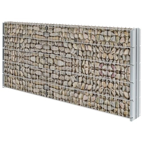 2d gabion fence set 2008x1030 mm 2 m galvanised