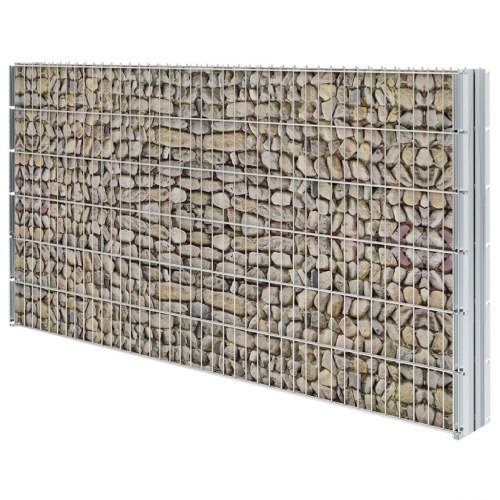 Set di recinzione Gabion 2D 2008x1230 mm 2 m zincato