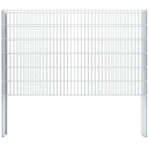Set di recinzione Gabion 2D 2008x1230 mm 12 m zincato
