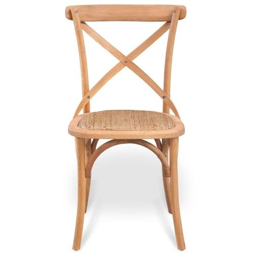 dining chair 6 pcs solid oak 48x45x90 cm
