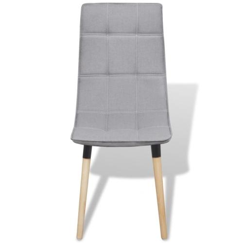Обеденные стулья 6 шт. Светло-серый (244152 + 244153)