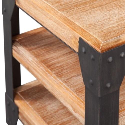 Набор из три комнаты для гостиной Набор из твердой древесины акации (243913 + 243914 + 243915)