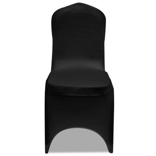 Coprisedili elasticizzati 100 pezzi nero (130338x2)