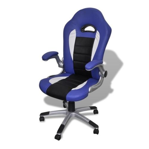 Fauteuil de bureau design bleu