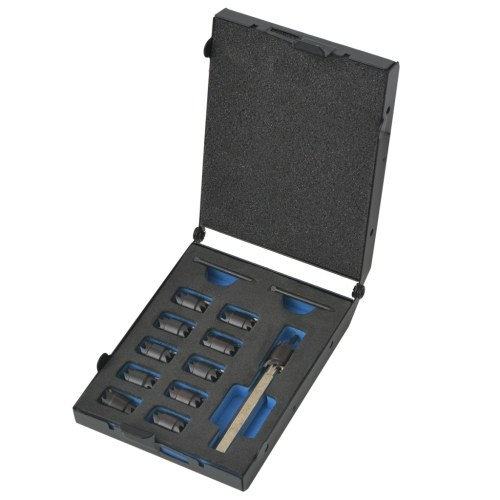 Set di punte per saldatura a punti in acciaio al cobalto 13 pz