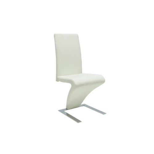 Lot de 2 chaises design - Blanche