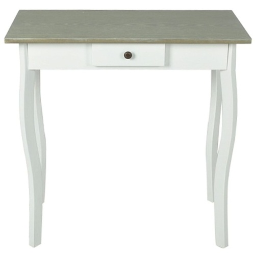 Console blanc et taupe