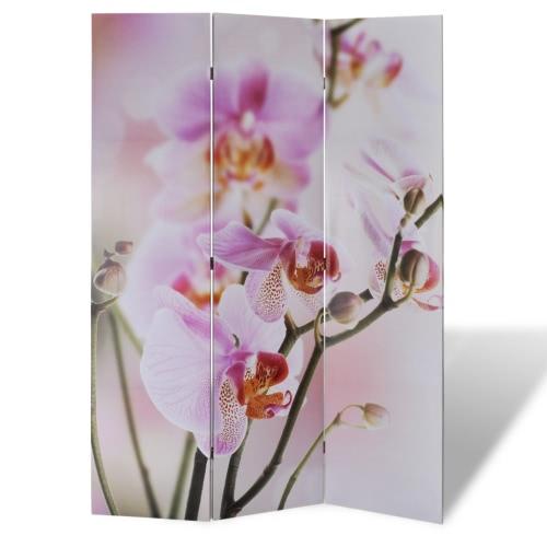 Paravent orchidée 120 x 180 cm