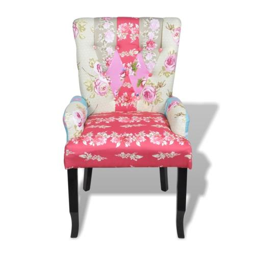 Chaise de salle à manger patchwork