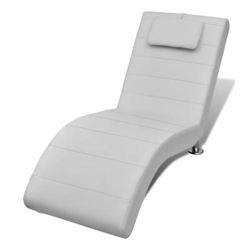 Chaise longue d'intérieur ergonomique