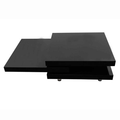 Table basse pivotante - trois plateaux
