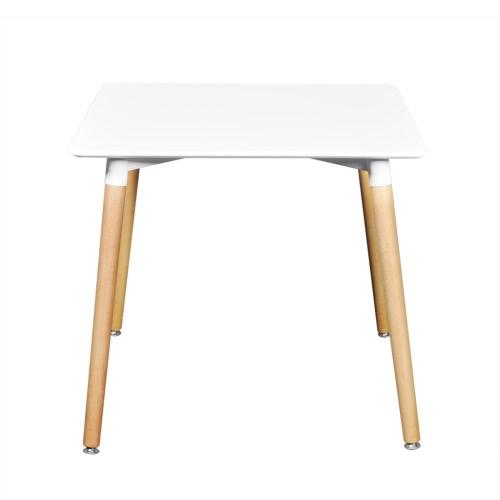 Table à manger blanc mat