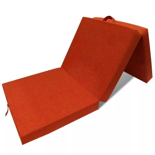 Matelas pliable orange 70 x 190 cm