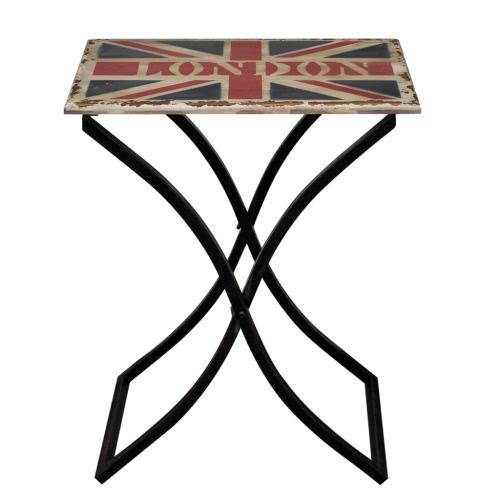 Table basse en bois style rustique