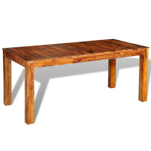 Table en palissandre massif L180 cm