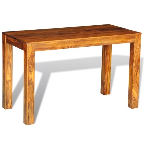 Table en palissandre massif L120 cm