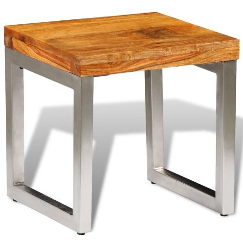 Table basse solide en bois massif