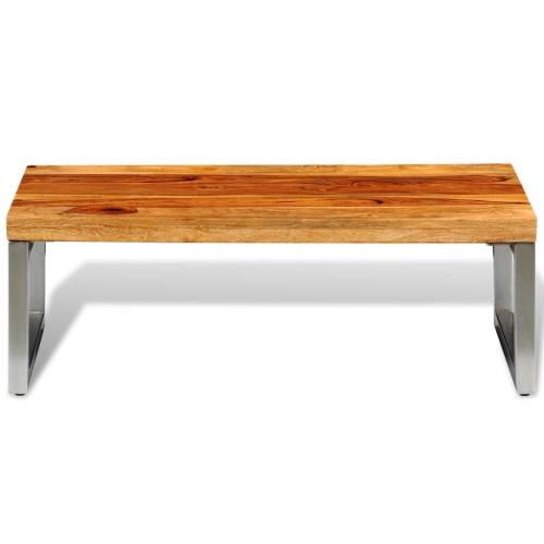 table basse design en bois massif. Black Bedroom Furniture Sets. Home Design Ideas
