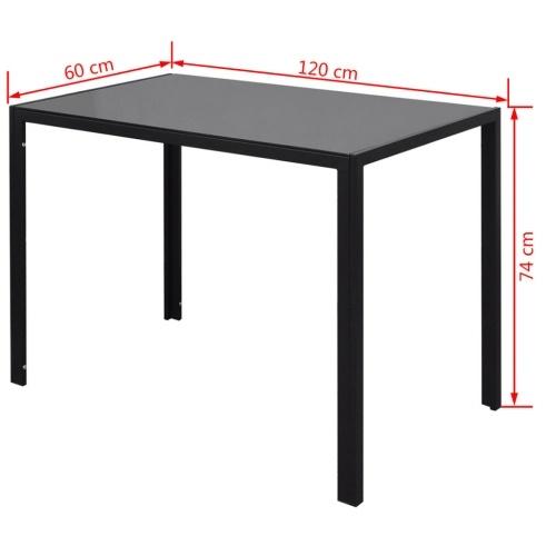 Набор для обеденного стола «Черный семисектор»