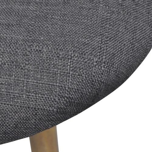 Темно-серый 2-х столовые стулья