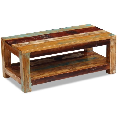coffee table solid wood 90 x 45 x 35 cm