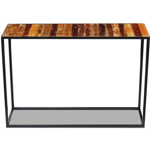Консольный стол Твердая древесина 110 x 35 x 76 см