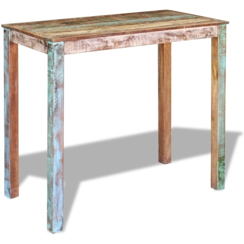 Table de bar en bois recyclé