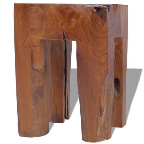 Твердый стул из тика 30 x 30 x 40 см