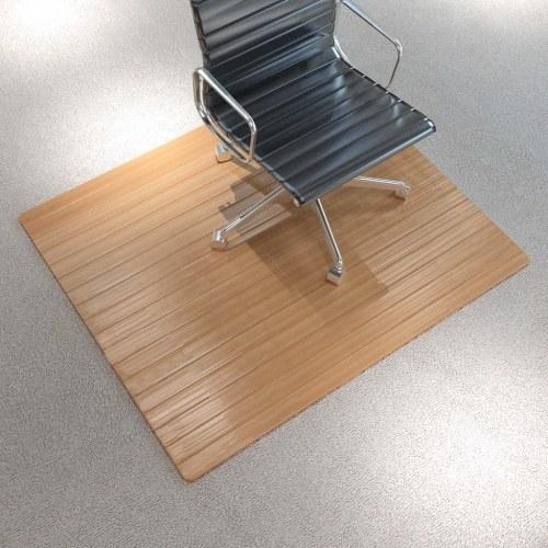 Natural Bamboo Chair / Floor Mat 90 x 120 cm
