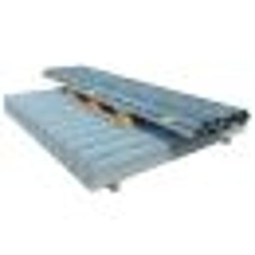garden fencing 2d panel + 2m poles 2008x1830mm silver