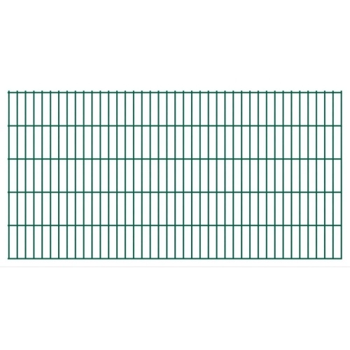 fence panels 2d garden 2008x1030 mm 34 m green