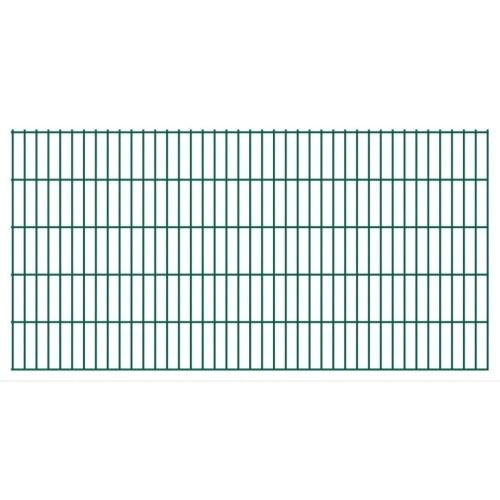 fence panels 2d garden 2008x1030 mm 46 m green