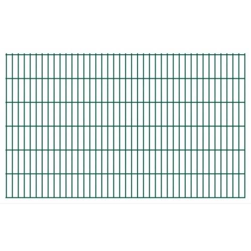 fence panels 2d garden 2008x1230 mm 48 m green