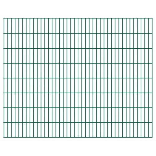 fence panels 2d garden 2008x1630 mm 44 m green